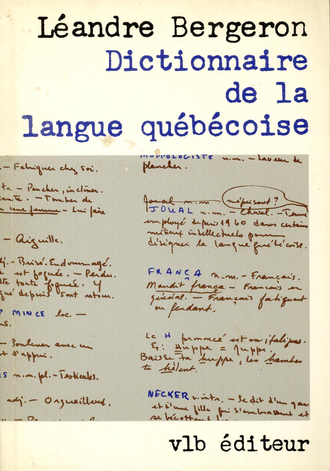 Dictionnaire 1980