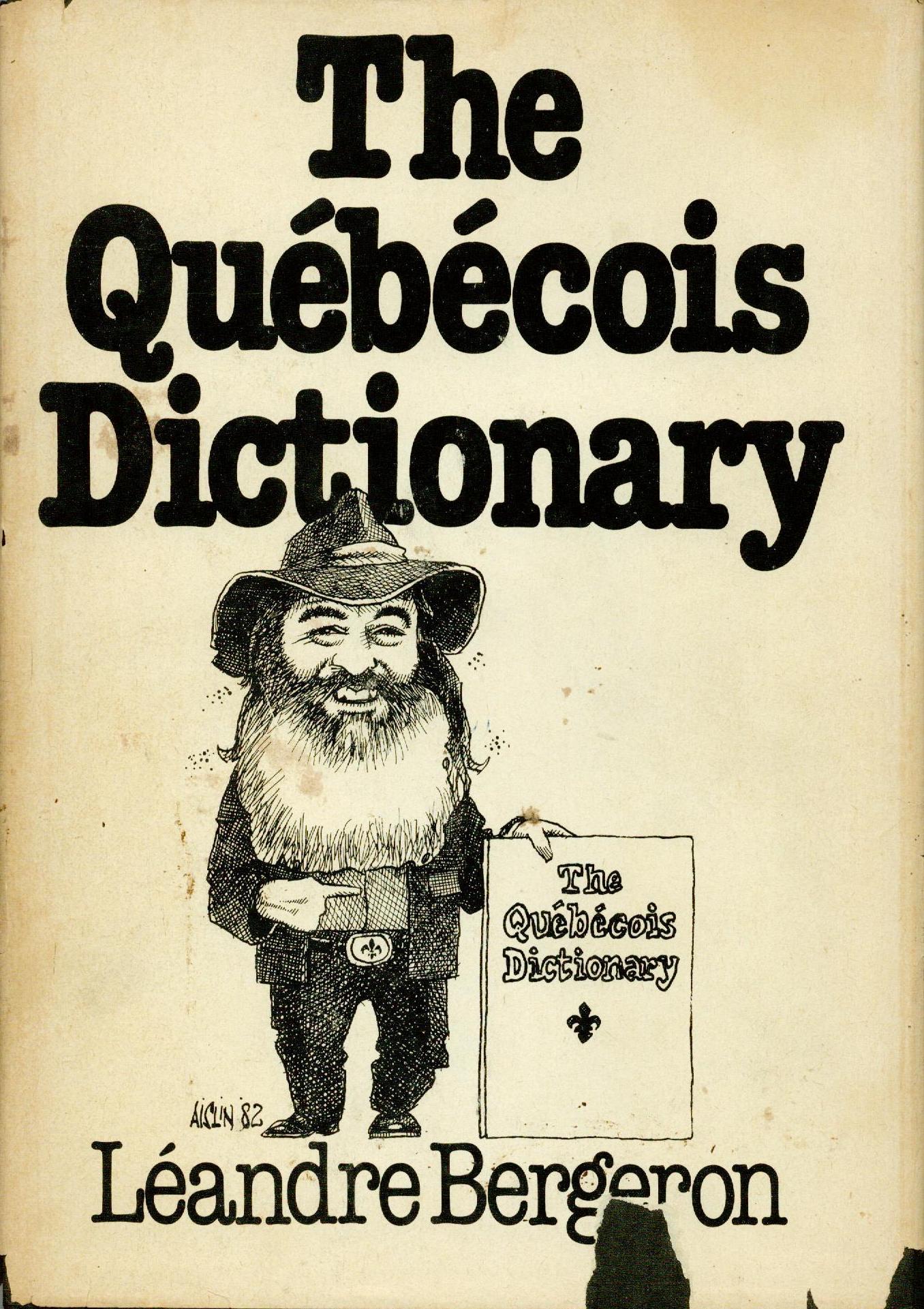 Dictionnaire anglais 1982