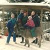 La famille et l'âne, Tibenouère