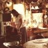 Francine dans sa cuisine