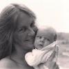Francine et son bébé Déirdre