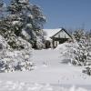 La maison l'hiver